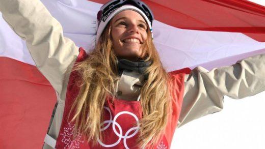Anna Gasser campeona del snowboard en los Juegos Olímpicos de Invierno 2018