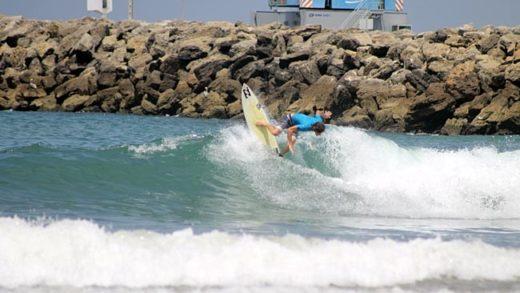Arrancó el Campeonato Nacional de Surf en Ecuador