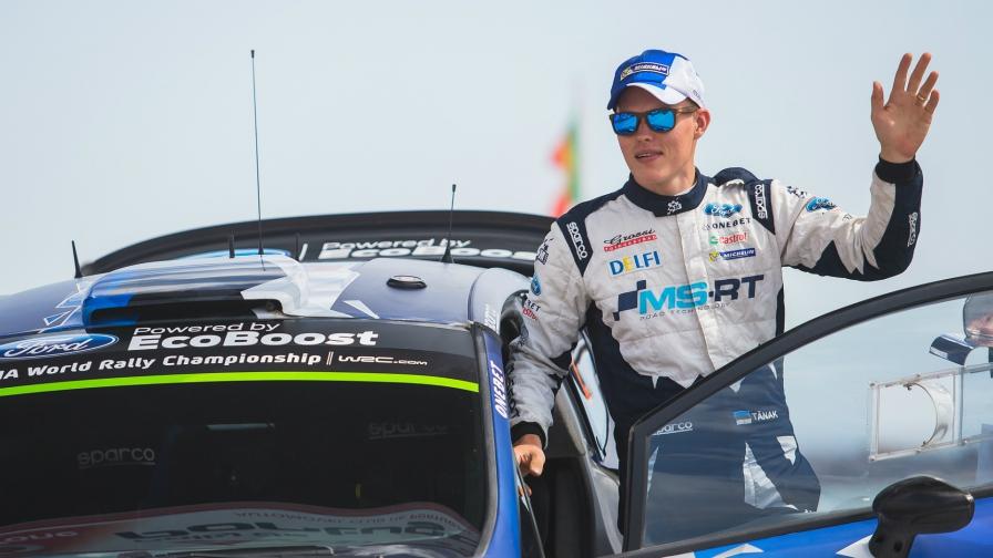 Ott Tänak se impuso en la primera especial del Rally de Suecia 2018