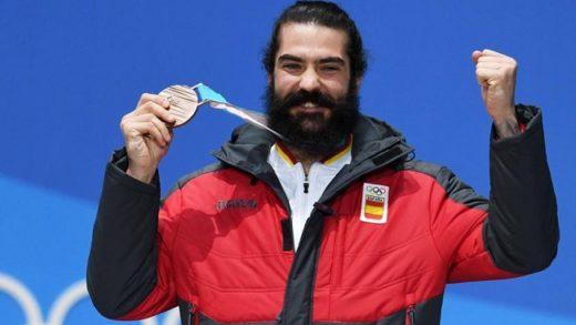 Regino Hernández, el snowboarder que logró la tercera medalla olímpica para España