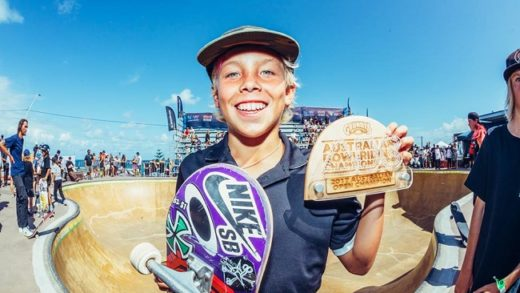 Keegan Palmer, la promesa del skate australiano