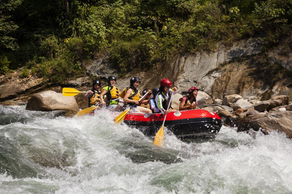 Rafting en Venezuela, el deporte ideal en el sitio perfecto