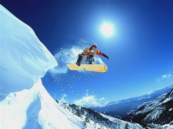 Snowboard, el deporte ideal para relajarse en la nieve
