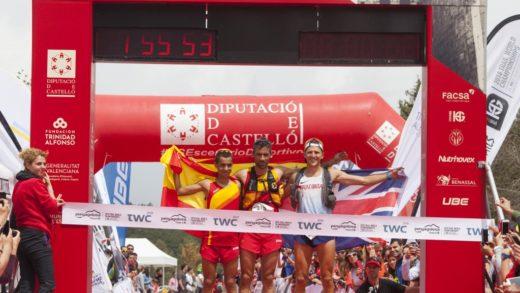 España hace historia en el campeonato Ultra Trail World en Penyagolosa