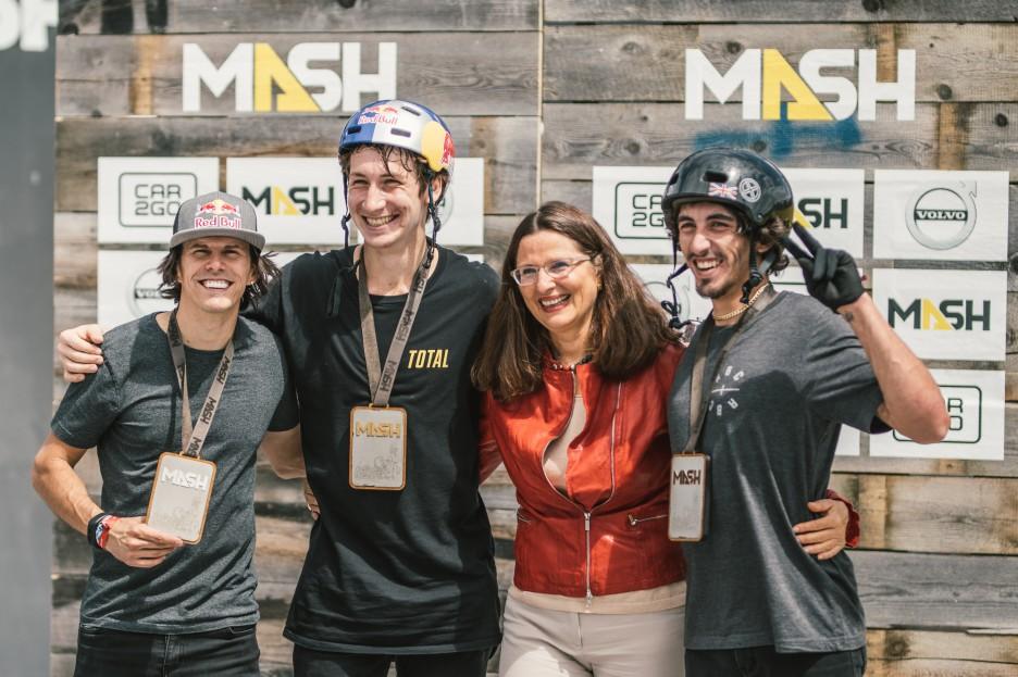¡Rizaev, Dhers y Clark, ganan el BMX PARK FINAL en el Mash Content 2018 en Munich!