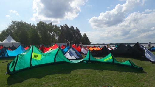 El viento impidió que el kiteboarding inicio su camino Olímpico