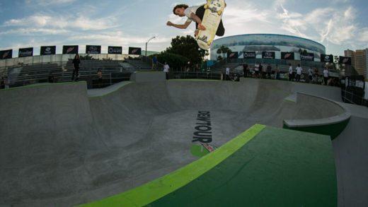 Inicia el Dew Tour Long Beach primer evento de calificación olímpico global de Estados Unidos para el skateboarding
