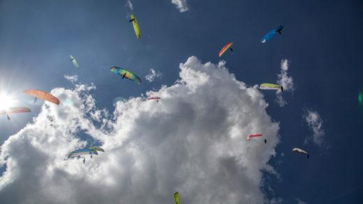 Macedonia recibe por primera vez el Campeonato Mundial de Parapente