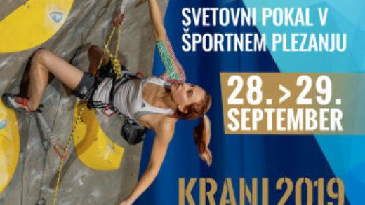 Kranj desafía a los campeones mundiales de la escalada