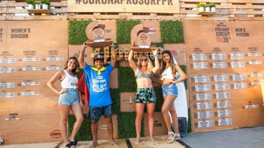 "El surfer venezolano Rafael ""Nono"" Pereira Campeón del Corona Pro Surf Circuit 2019"