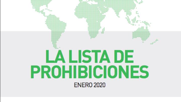 Lista de sustancias y métodos prohibidos de la AMA 2020 ahora en vigor