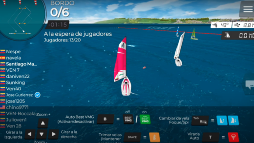 """Virtual regatta inshore"""