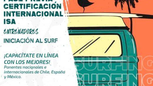 La Federación Venezolana de Surf inicia el proceso de inscripción a la Certificación Internacional ISA de la Fase Previa de iniciación al Surf para entrenadores