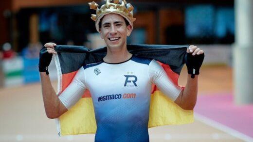 Nuevo record del mundo en la historia por el patinador alemán de velocidad en línea Felix Rijhnen