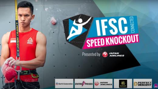 Kalucka y Adi llevan A Polonia e Indonesia en el podio de velocidad knockout de la escalada deportiva
