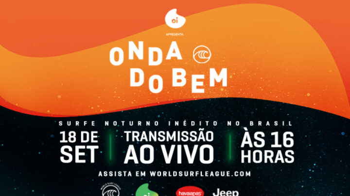 The Onda do Bem Charity Event Will Combine WSL Athletes and Brazilian Celebrities as Part of the WSL Countdown