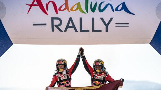 Kevin Benavides y Nasser AL Attiyah ganadores Andalucía Rally 2020