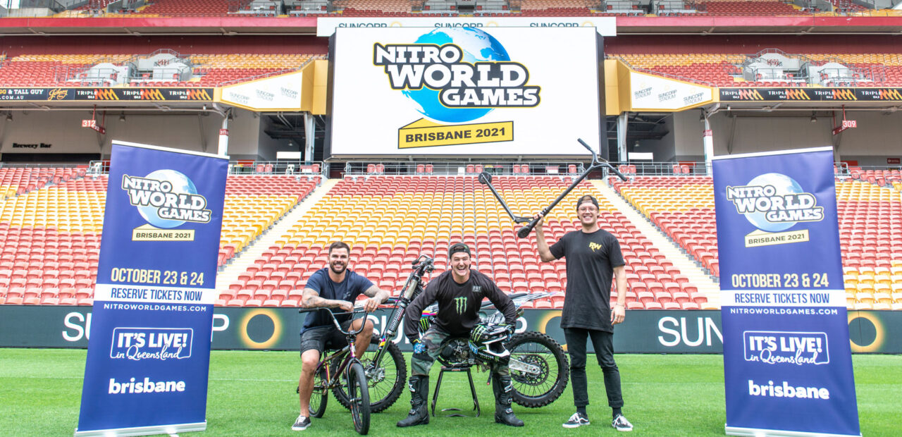 NITRO WORLD GAMES IS COMING TO BRISBANE IN 2021