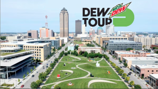 Dew Tour anuncia oficialmente las fechas y la ubicación del skateboarding en el verano de 2021 en Des Moines, Iowa