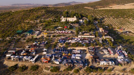 Primer reporte de kla segunda edición del Andalucia Rally con el primer ataque de Al-Attiyah y Rodrigues