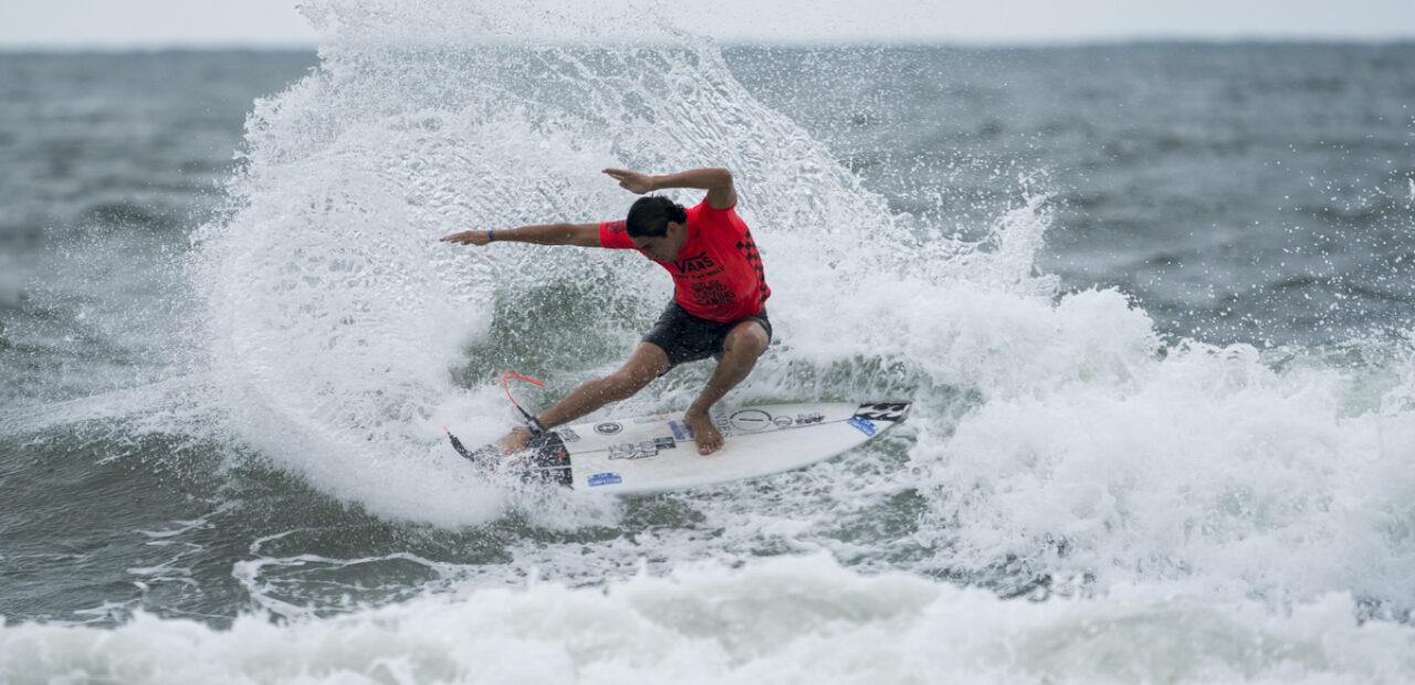 Bryan Perez de El Salvador INTERNATIONAL SURFING ASOCIATION
