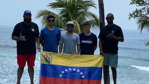 Venezuela escoge su selección masculina de surf rumbo al ISA 2021